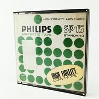 ~ Vintage ~ Philips ~ Magnetic Tape ~ SP 15 ~ High Fidelity Low Noise ~ Boxed ~