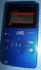 JVC PICSIO GC-FM1AU HD Memory Camera and Camcorder Blue
