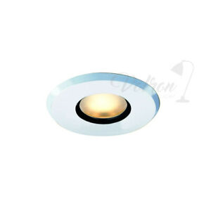 6x Recessed Spotlight G5, 3 50W IP65 Recessed Lamp Downlight White Spotlight
