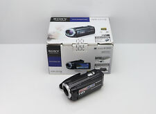 SONY HANDYCAM HDR-CX250E CAMCORDER BOXED MEMORY CARD HIGH DEFINITION DIGITAL HD