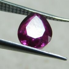 UNTREATED NATURAL 2.50 Cts PEAR CUT  PINK SAPPHIRE GEMSTONES RM691