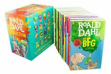 Brand New 16x ROALD DAHL Collection Books Box Set Phizz Wizzing Collection Book