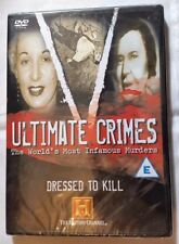 NEW & Sealed Ultimate Crimes - Dressed To Kill (DVD, 2005)