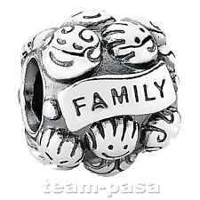 ORIGINAL PANDORA ELEMENT 791039 FAMILIENLIEBE NEU CHARM STERLINGSILBER BEAD ALE