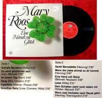 LP Mary Roos: Eine Handvoll Glück (Telefunken / Musik für Alle Serie) D