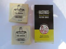 NOS Hastings 574 STD  Piston Rings for Ford Mercury V8 390, 410 NEW OLD STOCK