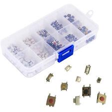200 Stk 10 Type Fernbedienung Schlüssel Mikrotaster Microschalter SMD SMT Box