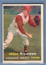 1957 Topps #32 Hersh Freeman VG-EX  GO295