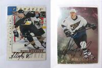 1997-98 BaP Signature Series #212 Morozov Alexei  autograph  penguins #5