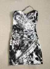 Black and white camouflage comfy dress fits Xs-S
