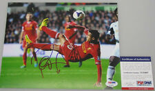PHILIPPE COUTINHO  Hand Signed Liverpool 8'x10' Photo + PSA DNA COA X15407