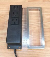 Unbranded (E317850) 3 Outlet Furniture Power Distribution Unit w/ Metal Cover