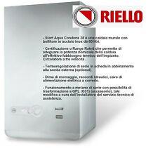RIELLO CALDAIA A CONDENSAZIONE START AQUA 28/60 BI - METANO