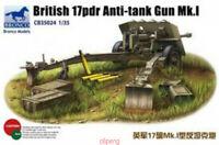 Bronco 1/35 35024 British 17 pdr Anti-Tank Gun Mk.I Hot