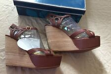 Seychelles Nothin' To Be Afraid Of  US 10 Brown Platform Sandal