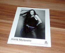 Alanis Morrisette * ironic *, original signed photo en 20x25 cm (8x10)