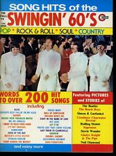 The Beatles Song Hits Of The Swingin' 60's Magazine Fall 1973 #X2738