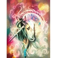 DIY 5d Diamond Painting Animal Unicorn Cross Stitch Full Drill Craft Art Decor