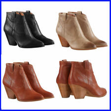 NEW Frye Women's Reina  Leather Western Ankle Bootie PICK SIZE AND COLOR
