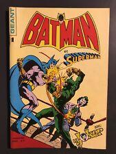 BATMAN ET SUPERMAN GEANT (Sagedition) - T1 : avril 1976