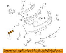 Infiniti NISSAN OEM 14-17 QX70 Rear Bumper-Side Bracket Right 852261CA0A