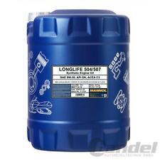 10 Liter 5W-30 MANNOL 7715 LONGLIFE MOTORÖL VW 504 / 507 00 BMW LL-04
