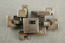 Vintage Midcentury Designer Brosche 835er Silber