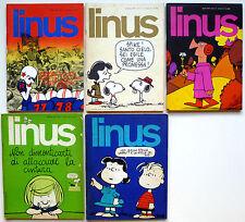 LOTTO079 - FUMETTI -  5 numeri LINUS - ED. MILANO LIBRI