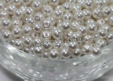 Various Colors Glass Pearl Spacer Loose Beads Jewelry Making DIY 4/6/8/10/12mm