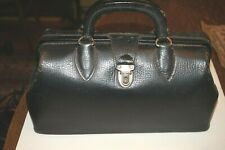 Antique Vintage Leather Small Doctor's Bag Great Handbag