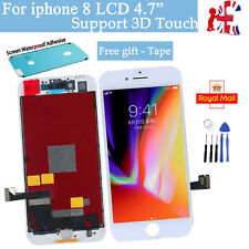For iPhone 8 LCD Screen Digitizer Replacement Assembly White - OEM IC - 3D Touch