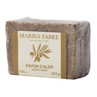 Marius Fabre Olive Oil Aleppo Bar Soap, Olive & Laurel Oil 200g 7.05oz