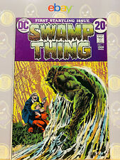 Swamp Thing #1 (8.0-8.5) VF+ 1st Solo Series 1972 Bronze Age DC Comics Key Issue