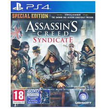 NEW ASSASSIN'S CREED SYNDICATE SPECIAL EDTION PS4 ELETRONIC THIRD-PERSON GAMES