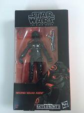 "Star Wars Black Series 6"" Inferno Squad agent Battlefront 2 Exclusive * dans la main *"