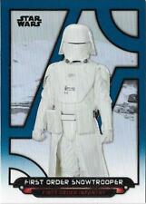 2018 Topps Star Wars Galactic Files Blue TFA-54 First Order Snowtrooper