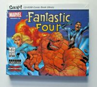 Snap! Marvel The Fantastic Four Digital Comic Book Library CD ROM WIN/MAC NEW