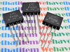 FM201 / BRIDGE RECTIFIER / 4 LEADS / 3 PIECES (QZTY)