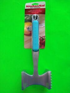 Brand New KitchenAid Aqua Sky Meat Pounder Tenderizer Blue