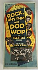 Rock Rhythm And Doo Wop 4 CD Boxed set Out Of Print OOP Rhino Records PBS WQED