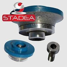 Stadea marble granite diamond router bits - Radius Demi B20 Tipped Edge Profile