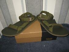 Teva NEW Original Universal Marled Olive Sport Sandals Mens UK Size 11