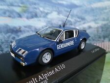 1/43 Minichamps   Renault Alpine A310 1976  Police 1 of 1824