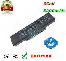 Laptop Battery for ADVENT 5401 7093 7111 P/N:916C5110F SQU-528 QRC430 Notebook