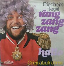 """7"""" 70s ! FRIEDHELM RIEGEL : Rang Zang Zang // MINT- \"""