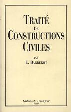 TRAITÉ DES CONSTRUCTIONS CIVILES