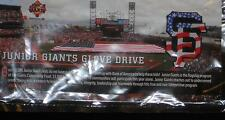 Junior Giants Glove Drive Red White & Blue Flag SF Pin SGA 2014 4th of july pin