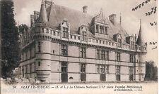Carte postale, AZAY le RIDEAU, Château national, non écrite au revers.
