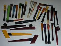 30 alte Zigarettenspitzen Art Deco um 1925  unbenutzt,Ebenholz,Bruyere,Bakelit