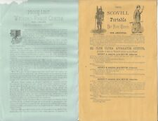 1880s Photography Equipment Brochure from R & J Beck Philadelphia Price Lists